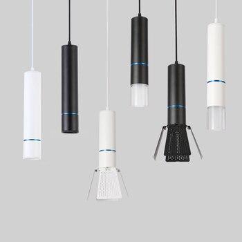 EuSolis LED вешалка лампа Lange БЮИ Licht Decoratie Cilinder Pijp вешалка Licht Keuken лампа Блеск Pendente Para лампа Кватро