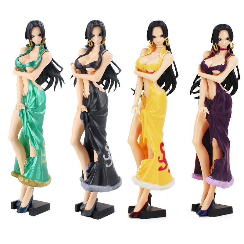 25cm One Piece Figure Toy Glitter and Glamours Boa Hancock and Bonney Special Ver. Collectible Model Dolls25cm One Piece Figure Toy Glitter and Glamours Boa Hancock and Bonney Special Ver. Collectible Model Dolls