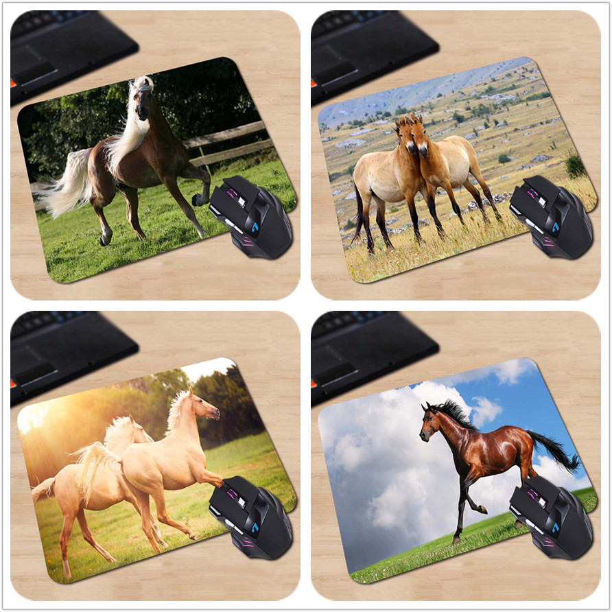 babaite 180x220x2mm splendid horse customized mouse pad computer