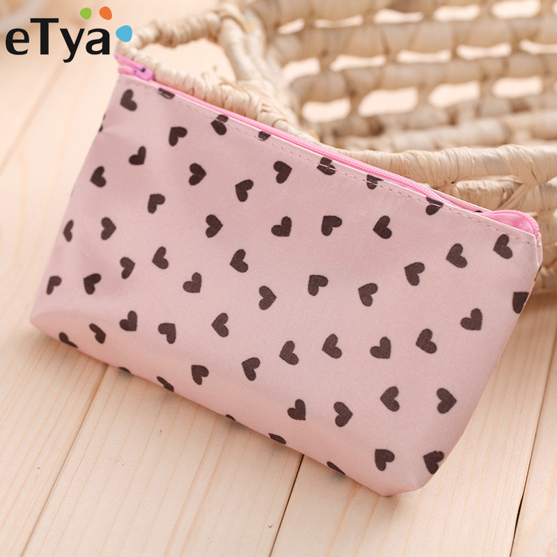 eTya Cute Printing Travel Cosmetic Bag Fashion Women Makeup Bag Portable Zipper Female Make Up Organizer Beauty Wash PoucheTya Cute Printing Travel Cosmetic Bag Fashion Women Makeup Bag Portable Zipper Female Make Up Organizer Beauty Wash Pouch