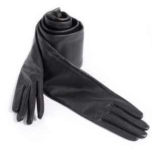 Image 3 - custom made 30cm to 80cm long top sheep leather evening opera gloves 15 colors to choose