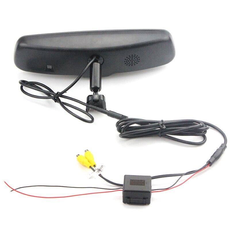 Авто затемнение 4,3 TFT lcd HD 800*480 специальный кронштейн автомобильная парковка заднего вида зеркало монитор для Toyota Kia hyundai Nissan - 5