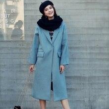Quintina 2016 New Fashion Plus Size Woolen Coat For Women Casaco Feminino Female Overcoat Winter Coat Women