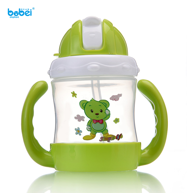 240ml Water Juice Milk Drinking Learning Baby Cartoon