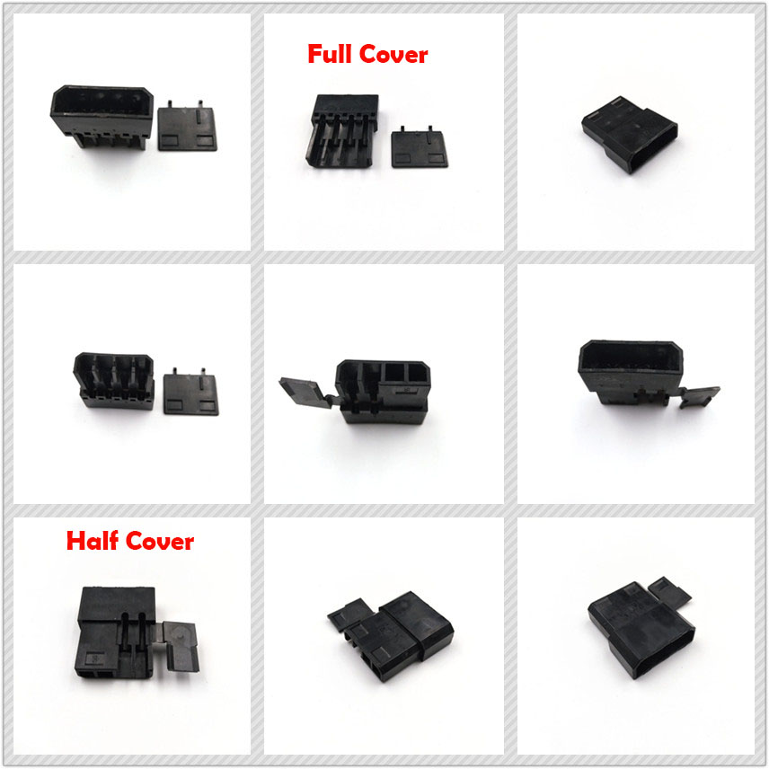 10Pcs White 3-Pin Female Fan Connector Housing Plug 2.54mm Pitch PC Mod Molex