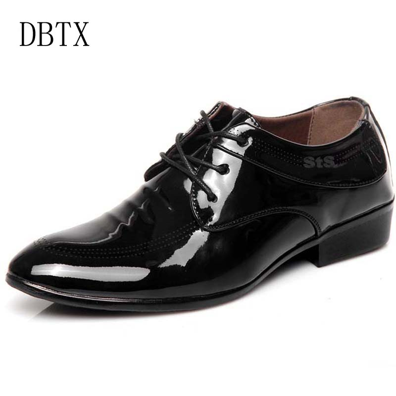 Hot Sale Spring Autumn Men Leather Oxford Shoes Men Dress Business Shoes Formal Shoes Pointy Shoes 347 2016 new men s leather shoes men spring autumn men s oxford shoes flats hot sale tide brand men shoes