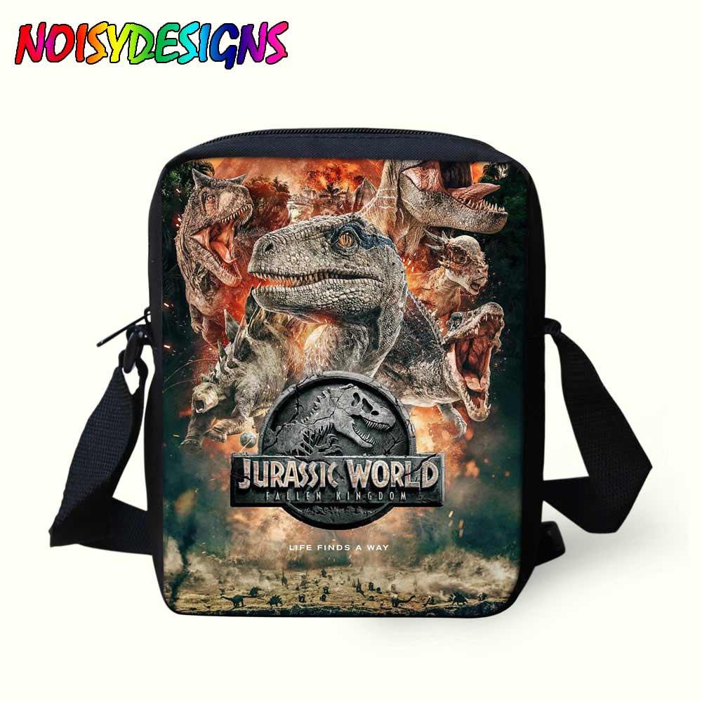 Dinosaurier Schulter Taschen Jurassic Welt Messebger Tasche Kinder In Umhängetaschen Jungen Mädchen Mini Porte Schulter Cabas Tasche Mochila Einfach Zu Reparieren Gepäck & Taschen