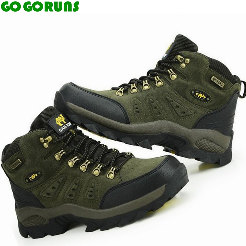 new outdoor men hiking shoes breathable high top sport climbing shoes men sneakers ankle boots hunting hiking  shoes men 3r38 big size 46 men s winter sneakers plush ankle boots outdoor high top cotton boots hiking shoes men non slip work mountain shoes