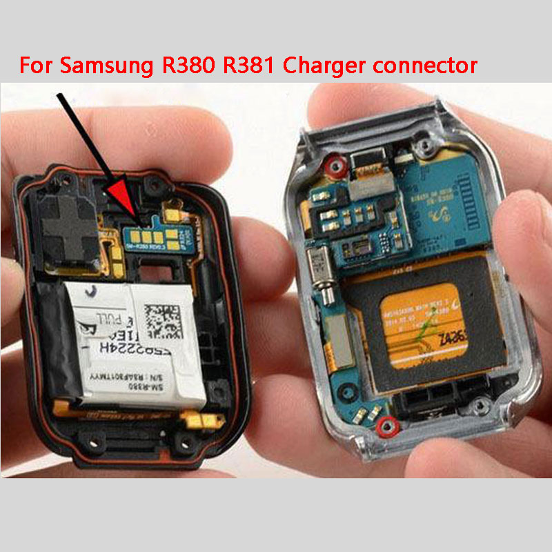 ZUCZUG New High Quality Charger Connector For Samsung Gear 2 R380 R381 Smart Watch Charging Board Replacement Part