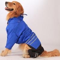 מעיל גשם כלב דובון גדול מעיל גשם כלב קטן חיות מחמד כלב סיטונאי בגדים עמיד למים מעיל גשם מעיל גשם חליפת מעיל S-XL