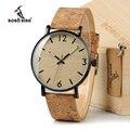 BOBO BIRD Женские винтажные дизайнерские брендовые роскошные деревянные бамбуковые часы, женские часы с натуральной кожей, кварцевые часы в по...