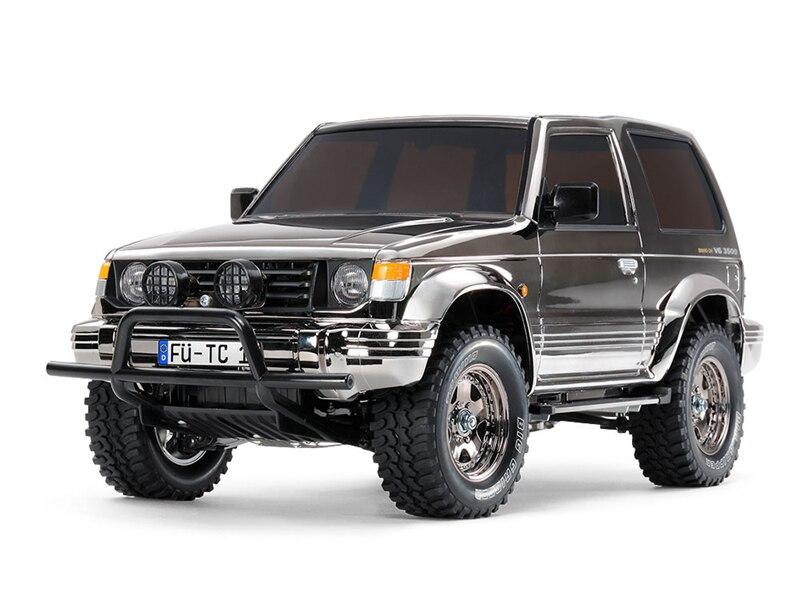 Tamiya 47361 1//10 RC 4WD Truck CC01 Chassis Land Freeder Matte Black Painted Kit