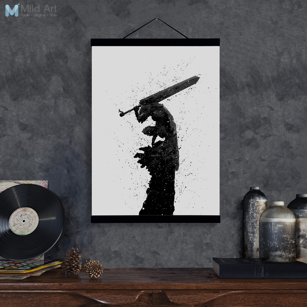 Aliexpress Com Buy Abstract Japanese Pop Anime Berserk