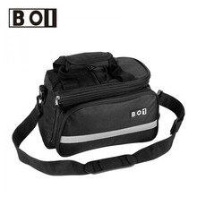 ROSWHEEL 10L Bicycle Bag Multifunction Bike Tail Rear Bag Saddle Cycling Bicicleta Basket Rack Trunk Bag Shoulder Handbag