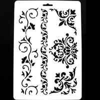 1 шт. DIY ремесленные трафареты для скрапбукинга стен, шаблоны для живописи, штампы, альбом, декоративные тисненые бумажные карты