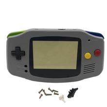 Remplacement pour SNES SFC édition gris boîtier coque écran lentille couverture pour GBA jeu garçon avance