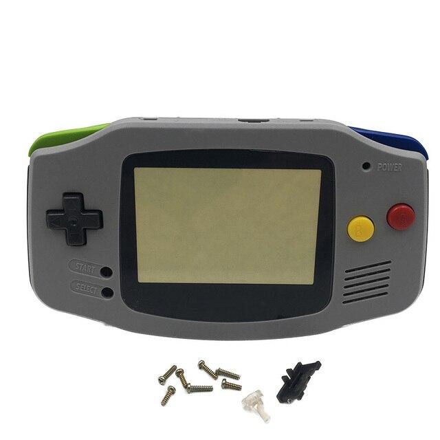 交換スーパーファミコンsfc版グレーハウジングシェル画面にはレンズカバーgbaゲームボーイアドバンス