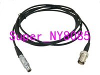 Cable Equality FFA.01S C6 1Pin to BNC female Q9-C6 Connector for Ultrasonic Equipment Flaw Detector RG174 3FT~10M