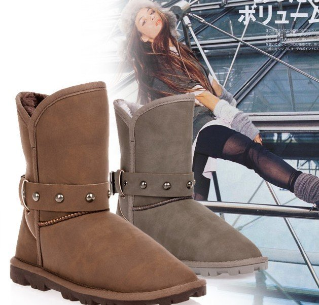 2010 selftrend fashion women snow boot