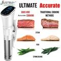 Vacío lento Sous Vide comida cocina 1800 W potente inmersión circulador-Temporizador Digital Pantalla de acero inoxidable IPX7