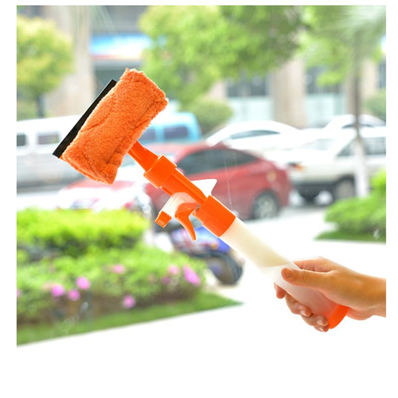 Family Portable Can Spray Glass Cleaner Window Cleaner Cleaning Blade For  Car Wash Bathroom Wall Cleaning