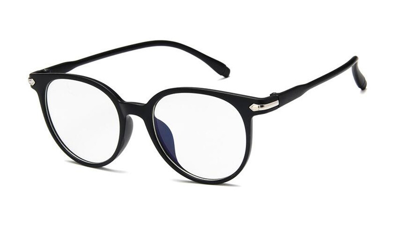 Half Rimmed Round Frame Nerd FREE POST AUS Retro Clear Lens Glasses
