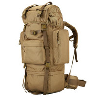 military new nylon large capacity backpack 70 l Steel pipe package Men and women waterproof high quality tourist men's bags