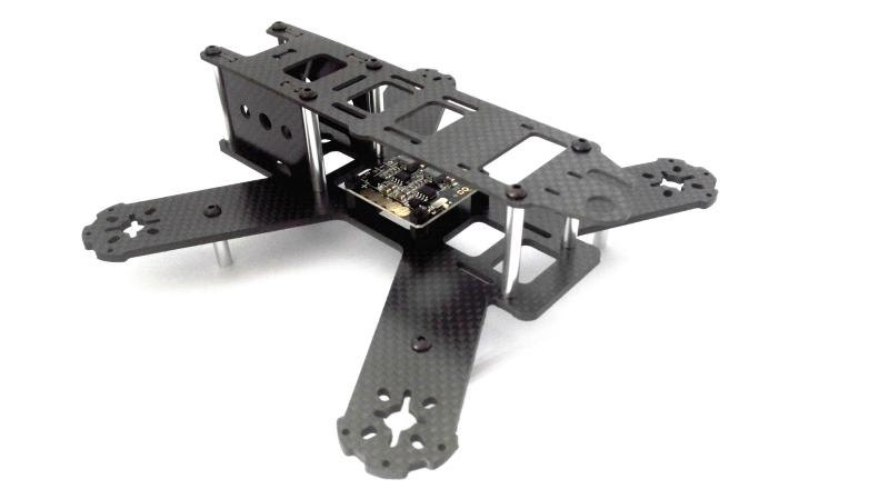 New QAV180 180mm Full Carbon Fiber FPV Quadcopter Frame Kit with with 5V 12V Power Distribution Board