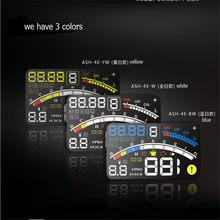 Дисплей на лобовое стекло автомобильный, 4e, 5,5 дюйма, OBD2 II, EUOBD
