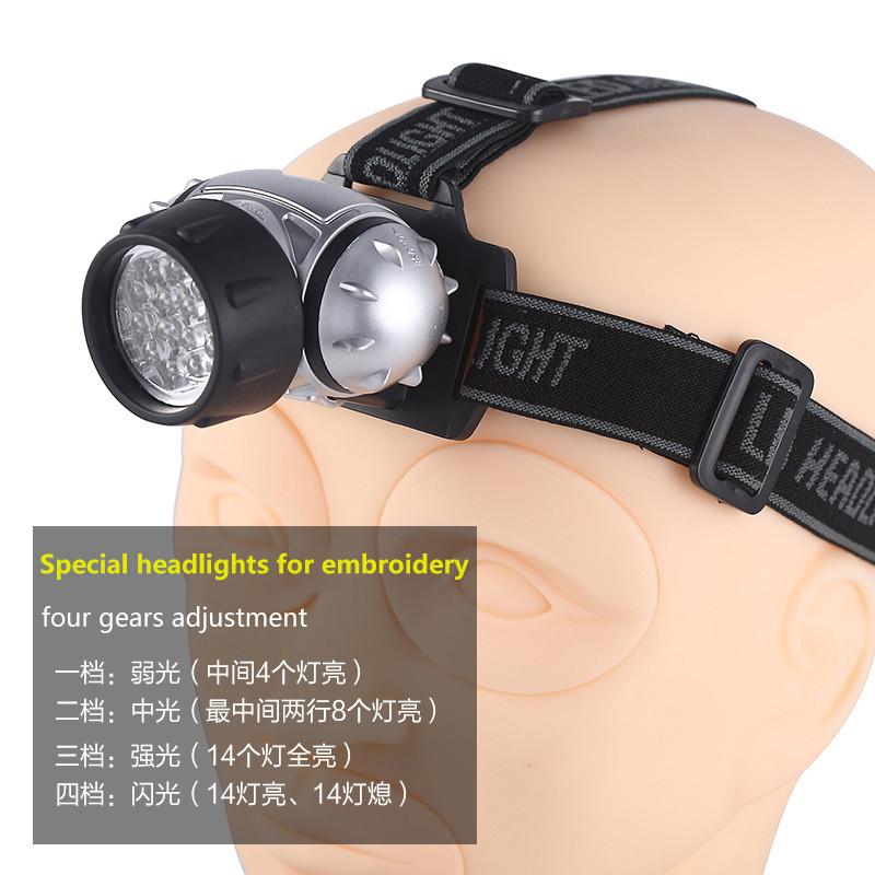 Tattoo Makeup Dedicated Head Wearing Type Working Lamp Capable Of Regulating Light With Free Shipping