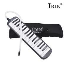32 клавиши пианино стиль мелодика гармоника черный музыкальный