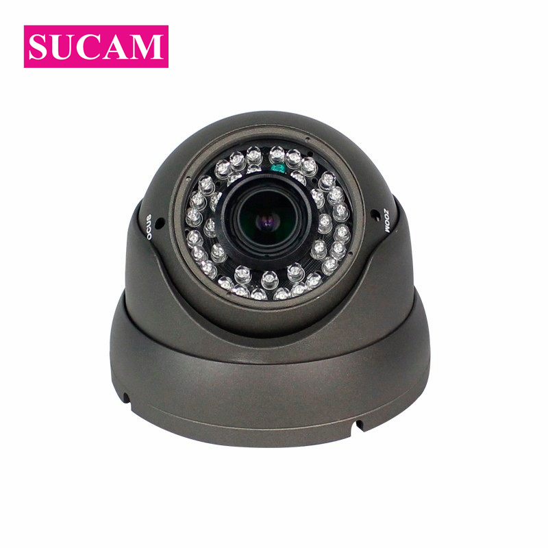 SUCAM 4MP 2.8-12mm Varifocal AHD Dome Camera Vandal Proof Night Vision Home Security Surveillance CCTV Cameras 30M IR Distance sucam outdoor 180 360 degrees panaromic security ahd camera 4mp infrared night vision video surveillance cameras 20 meters ir