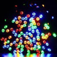 Solar LED Festival String Lights 22m 200 LEDs Waterproof Fairy Christmas Modes Lights Outdoor Lighitng Garden