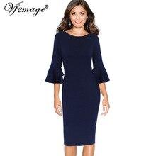 vimtage offwhite elegant dinner dress