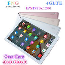 9.7 inch 3G/4G LTE tablet pc Android7.0 Octa Core 4GB+64GB 1920*1200 IPS Dual SIM Card WIFI Bluetooth Smart tablets 10.1 7 8 9