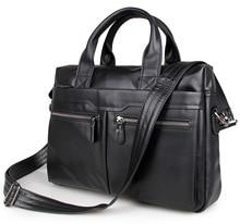 Echtes leder männer briefcare marke hohe qualität herren business handtaschen zwei farbe echt leder weiche männer laptop-tasche