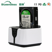 All In 1 Hdd Docking 1 Click Clone Duplicator Hdd Docking Station 3 5 2 Bay