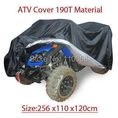 Plus XXXL size ATV Quad Bike ATC Cover Water Snow Dust Resistant up to 100 X 43 X 47