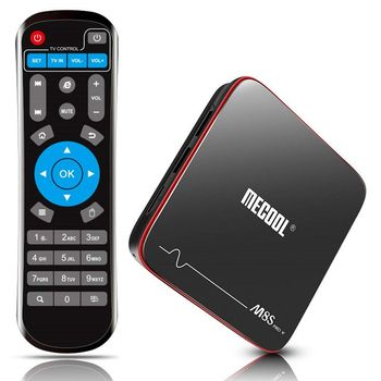 Android TV Box 7.1 2GB RAM 16GB ROM Streaming Media Player Smart TV Box Support HDMIH.265 WiFi 2.64G Android Set TV Box