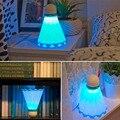 2017 1 pcs nova chegada badminton forma novelty luz conduzida da noite quarto lâmpada decoração da lâmpada de luz usb recarregável venda quente
