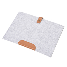 New Pocket book Laptop computer Sleeve for Macbook Air/Professional Case Cowl Pc Bag Laptop computer Bag, Grey 12 Inch