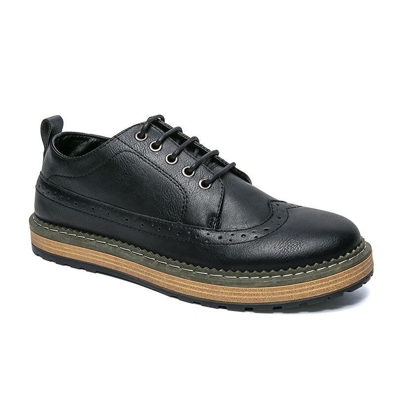 2018 Solide Luxe Décontracté Appartements En Black De Conduite grey Automne brown Marque Mocassins Chaussures Cuir Oxfords Italiennes Hommes Pour rrXw8