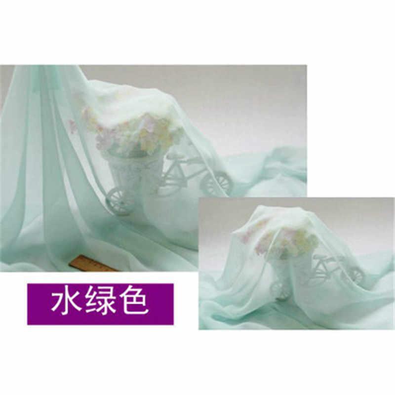 Tela suave de gasa de 150cm de ancho para forro de vestido tela 30d telas Georgette boda