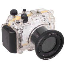 Para sony rx100 rx100 i mi m1 dsc-rx100 rx100 mark i 40 m 130ft impermeable carcasa caja de la cámara cubierta de la bolsa