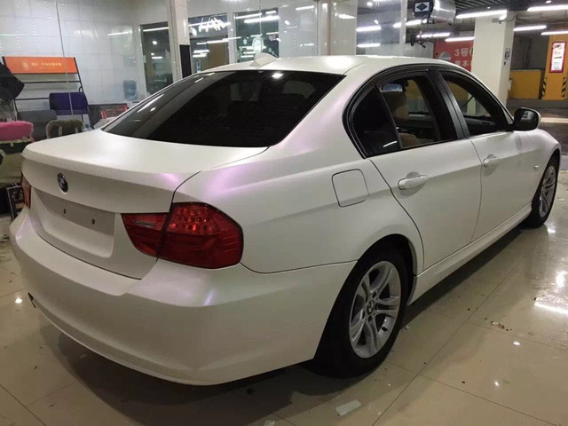 Car Vinyl Wrap Cost >> Low Cost 1 52 18m Chameleon Matte Pearl White To Purple