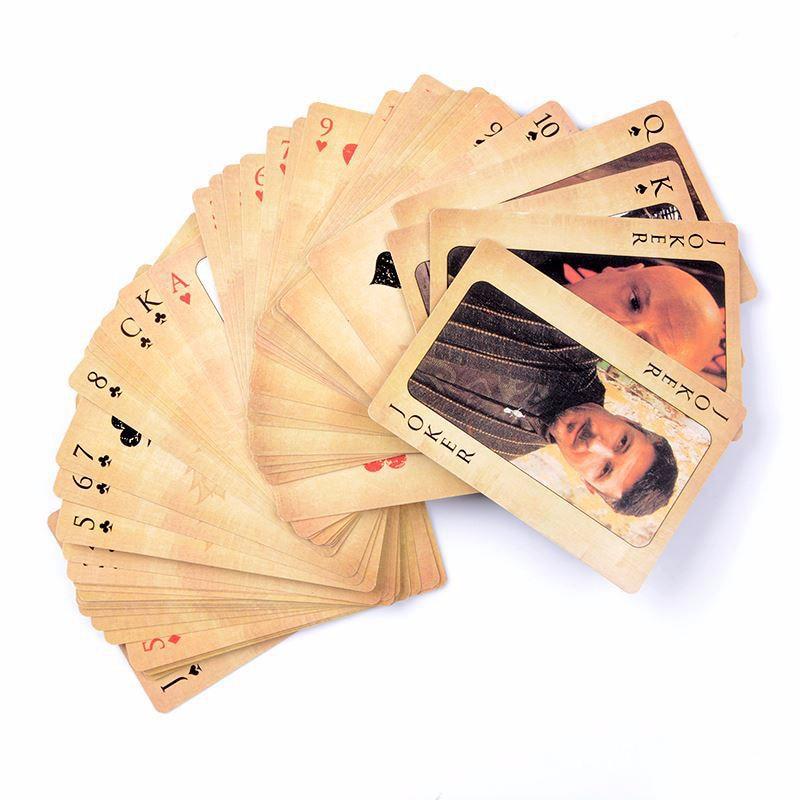 Game Of Thrones Poker Props Jon Snow Stark Daenerys Targaryen Dany Dragon Mother Cosplay Props Board Game Playing Cards(China)