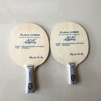 Professional Arylate carbon with 5 layer wood offensive long handle short handle table tennis blade ping pong pat