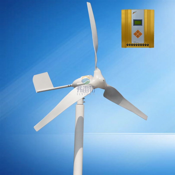 HAWT 600w max power 800w  windmill with 12v/24v automatic recognition MPPT  hybrid controllerHAWT 600w max power 800w  windmill with 12v/24v automatic recognition MPPT  hybrid controller