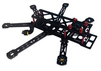 Mini HEX Carbon QAV 6 Axis 300mm Hexacopter Frame Gopro 808 Camera Compatible