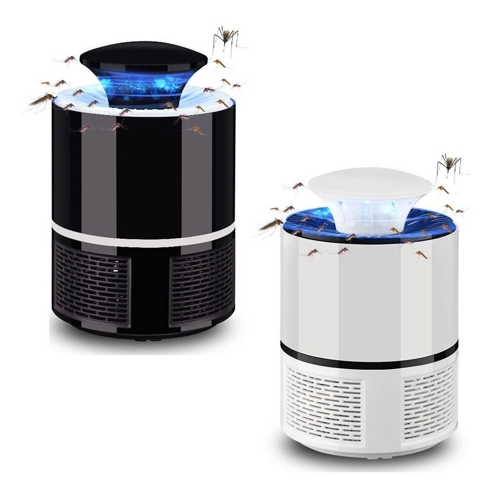 Lámpara del asesino del Mosquito eléctrico USB fotocatalizador asesino del Mosquito mosca polilla insecto trampa lámpara powered Bug zapper moskito asesino